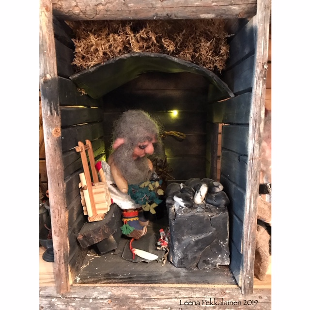 Mr. Mummific travel blog - sauna